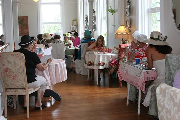 High Tea at Laura's Tea Room, Ridgeway, SC